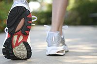Walking-sneaker-shot
